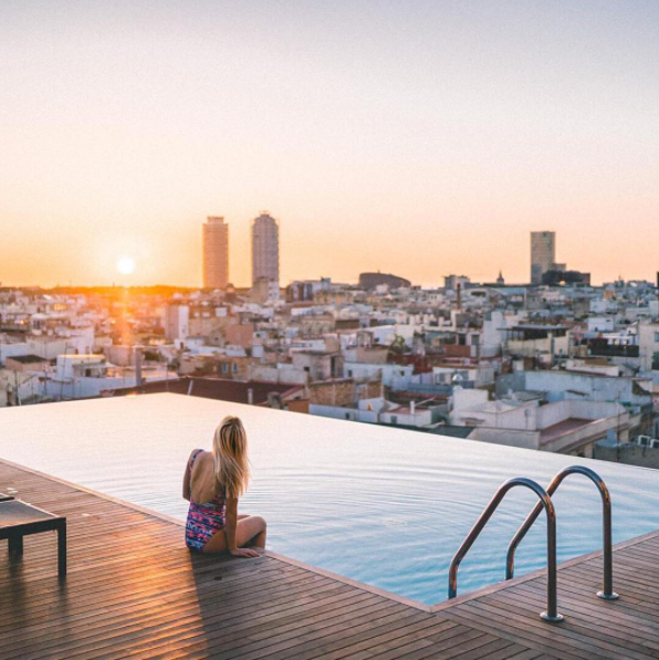 Take a dip with a view.