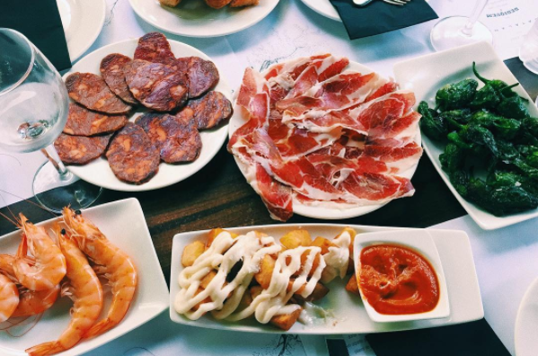 Tapas: The perfect excuse to try everything on the menu.