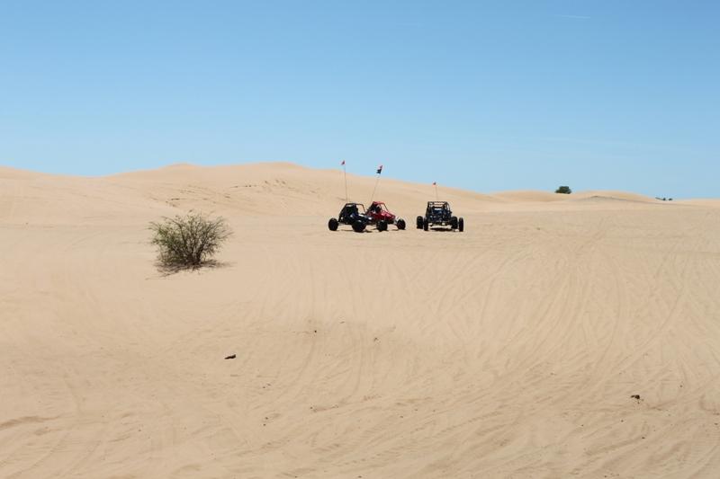 Le parc Little Sahara Oklahoma