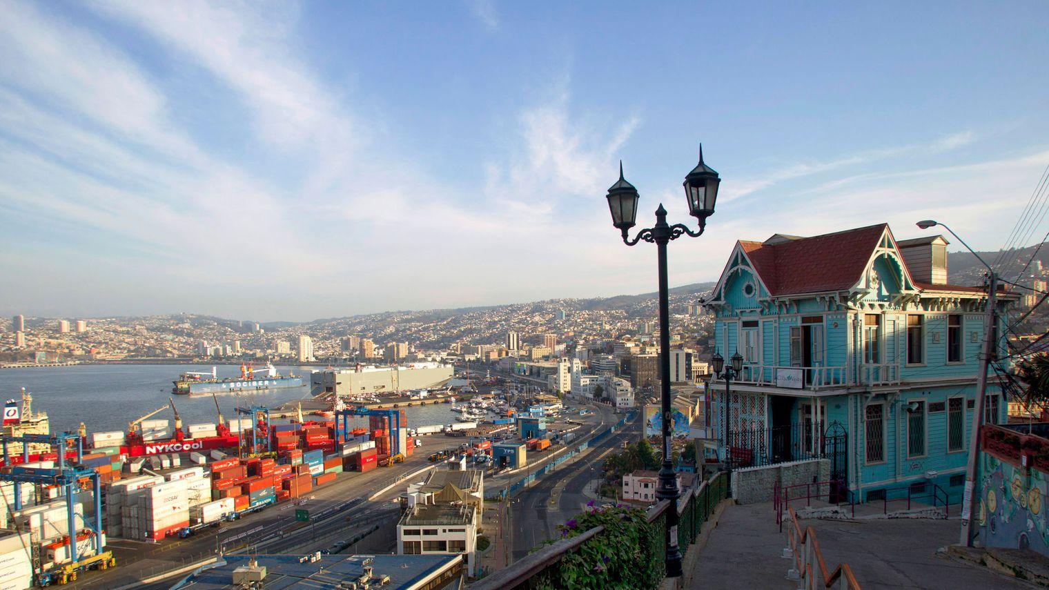 Valparaiso et son port historique