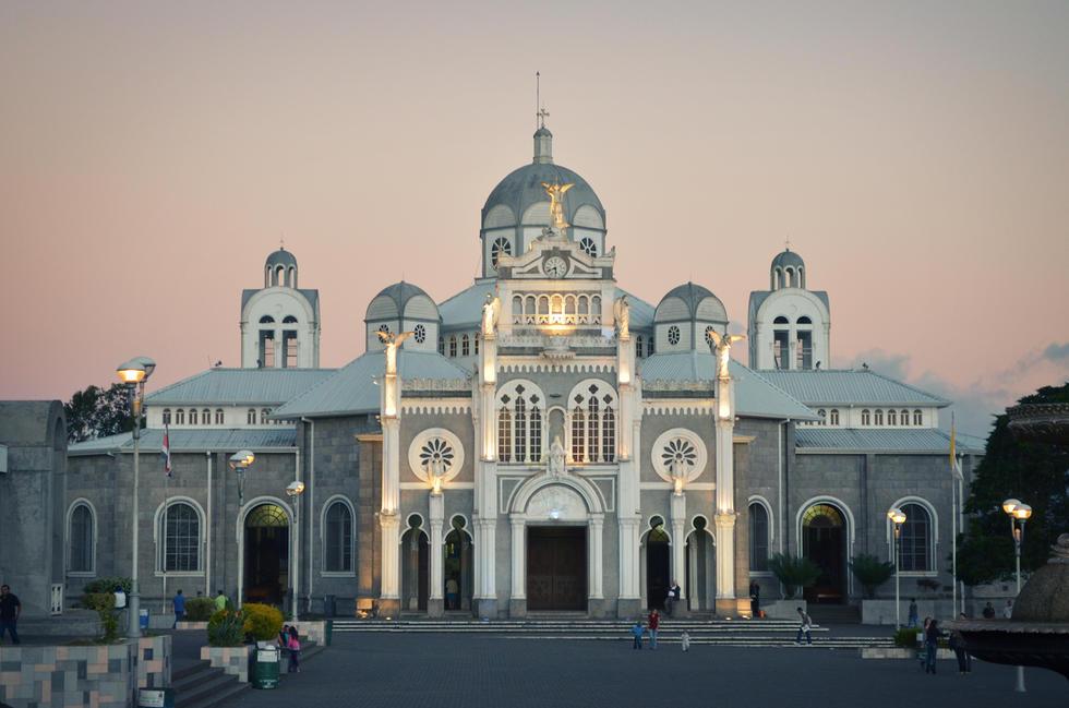 La basilique Notre Dames des Anges