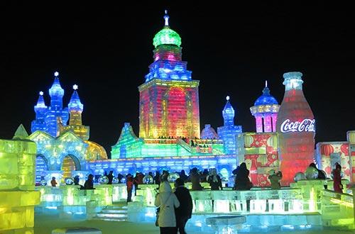 Le festival de sculptures sur glace Harbin