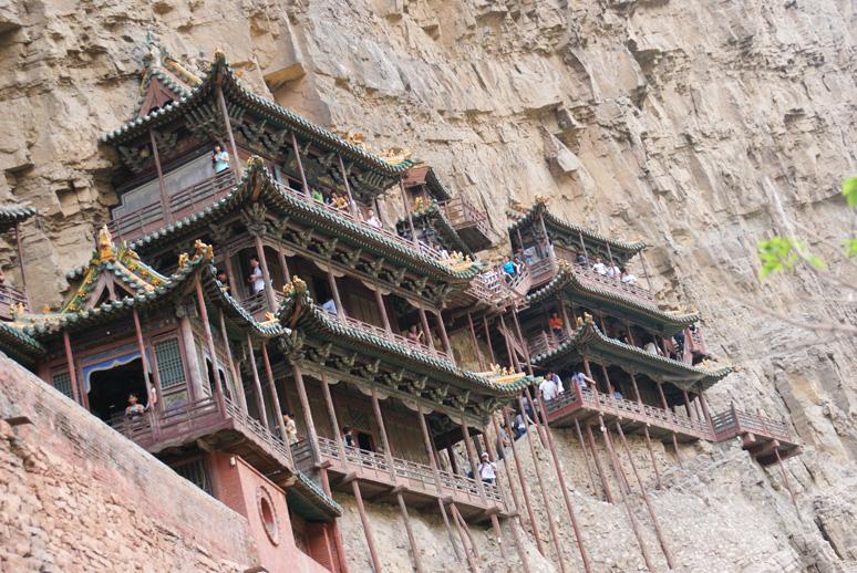 Le-monastère-suspendu-de-Xuan-kong-Si