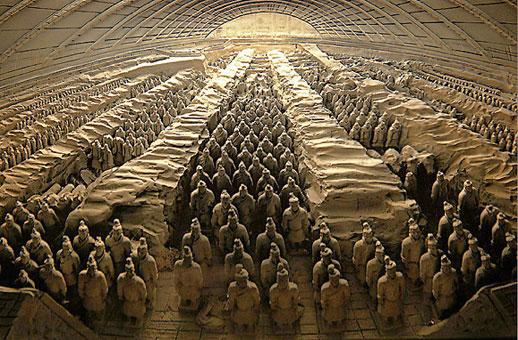 armée de soldat de terre cuite de Xi-an