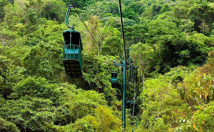 téléphérique foret tropicale costa rica