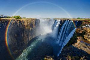 les-chutes-victoria-au-zimbabwe