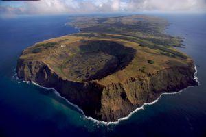 volcans de l'île de paques