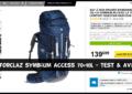 Sac à dos Forclaz Symbium Access 70+10 Quecha - Test & Avis