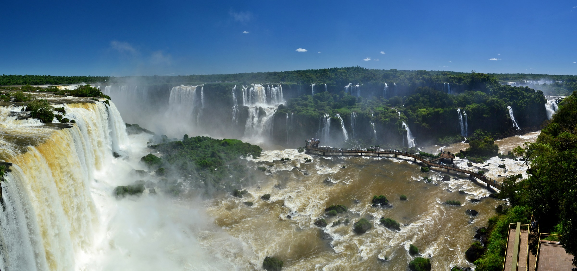 Visiter les Chutes Iguazù