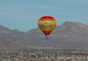 Survol de Las Vegas en Montgolfière