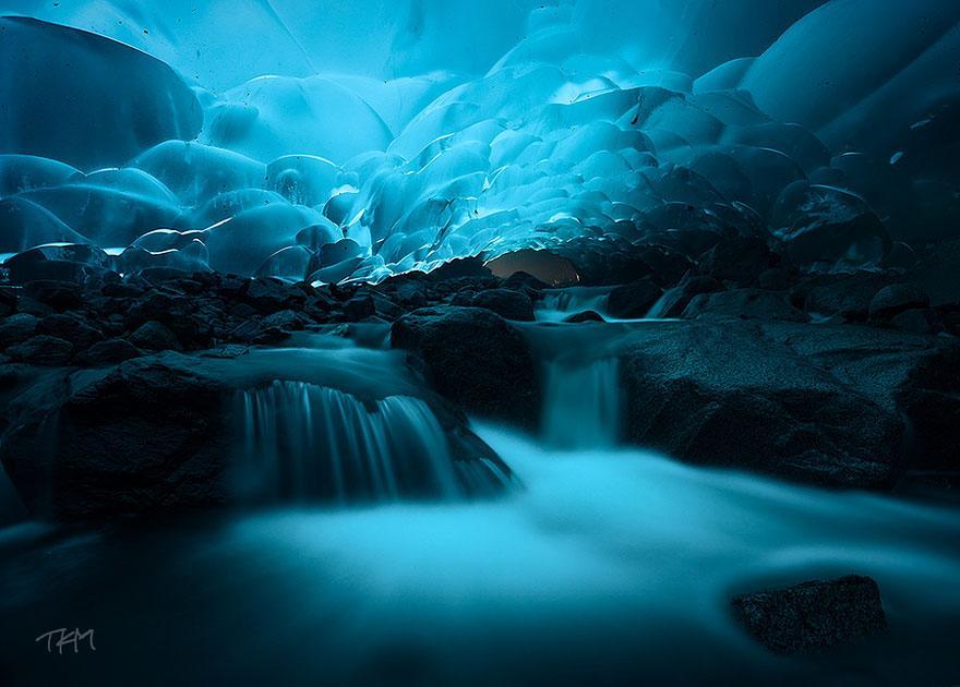 6. Mendenhall Ice Caves - Juneau, Alaska