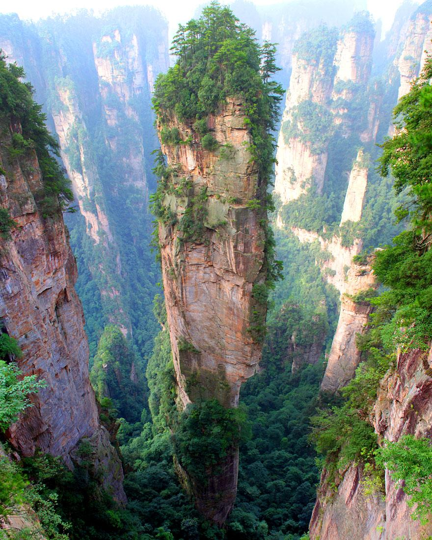18. Tianzi Mountains - China
