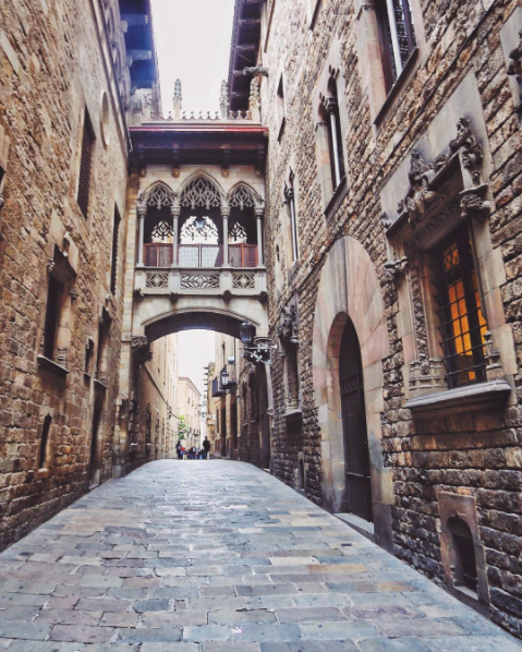 Go ahead and get lost in the Gothic quarter.