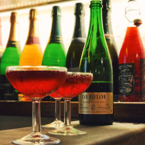 You'll find this cult-favorite Spanish Cava at local tapas bar, La Xampanyeria. Not only is it delicious, but it's cheap AF.