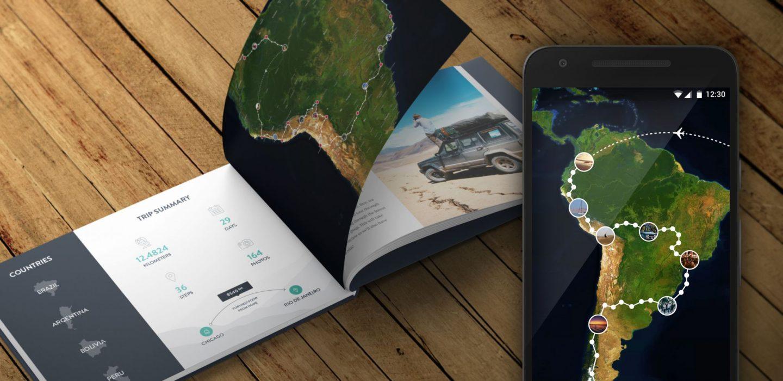 PolarSteps - Le tracker de voyage
