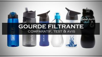 Meilleure Gourde Filtrante - Comparatif, Test et Avis