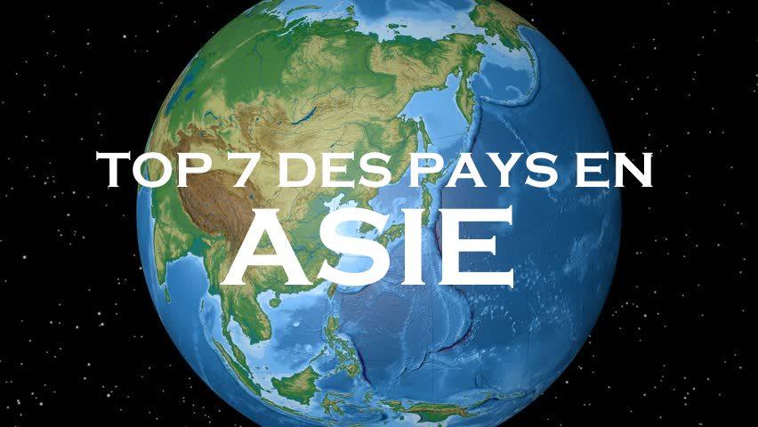 meilleurs pays asie voyage
