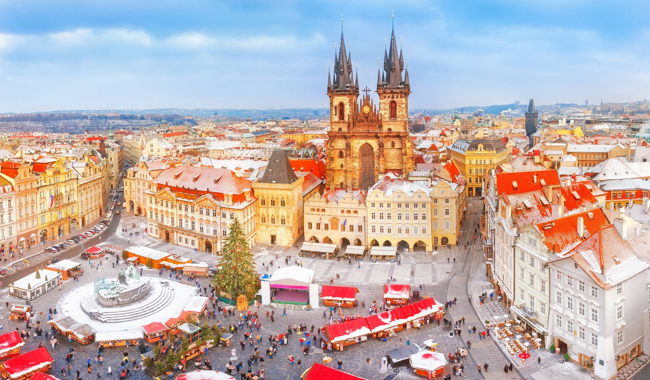 marché de Noêl Prague