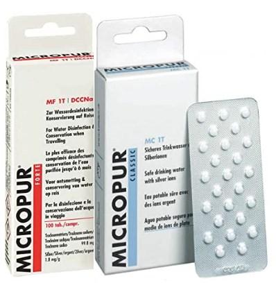 acheter micropur pastille comprimés