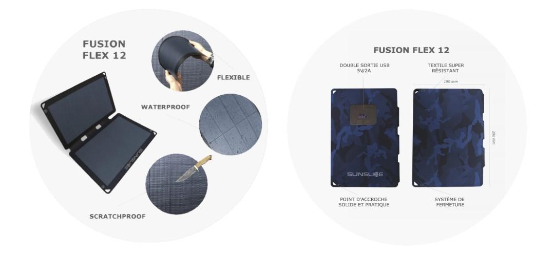 Fusion Flex 12 - Avantages et Informations