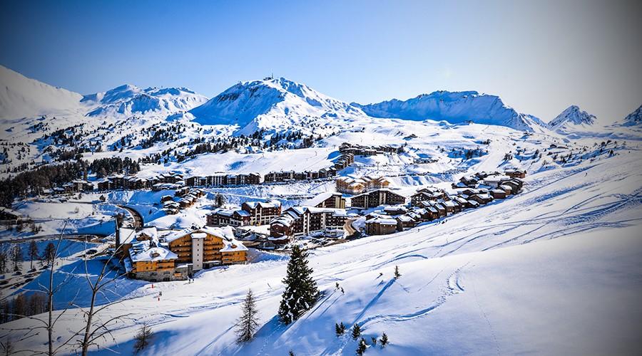 La Plagne - Station Ski