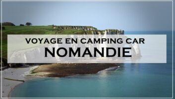 voyage camping car normandie