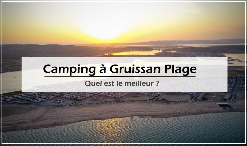 Meilleur Camping à Gruissan Plage
